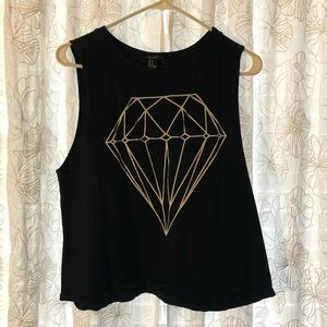 Diamond Muscle T-shirt Forever 21